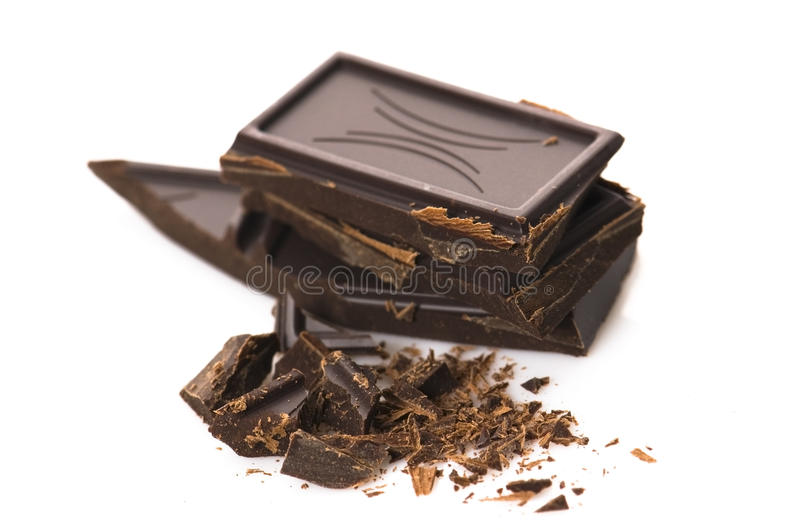 Download Chopped chocolate stock photo. Image of broken, close - 13121298