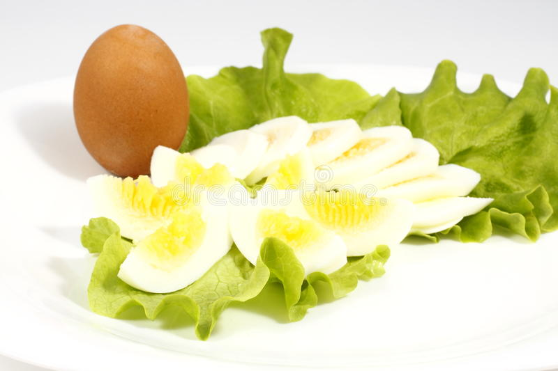 Download Chopped eggs stock photo. Image of white, breakfast, rings - 13123622
