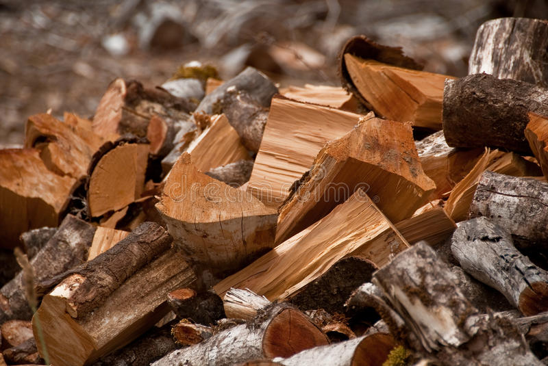 Download Chopped fire wood stock photo. Image of warmth, natural - 17981914