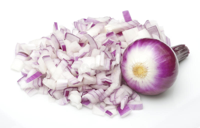 Download Chopped & Full Onion Royalty Free Stock Image - Image: 19437616