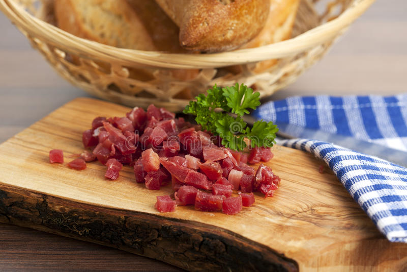 Chopped Ham Royalty Free Stock Image