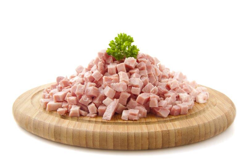 Chopped Ham Royalty Free Stock Images