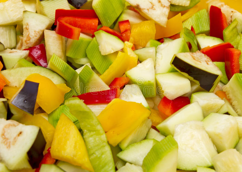 Download Chopped raw vegetables stock image. Image of slice, vegetarian - 26611157