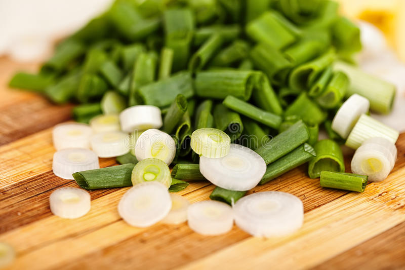 Download Chopped spring onions stock photo. Image of natural, leaf - 41071888