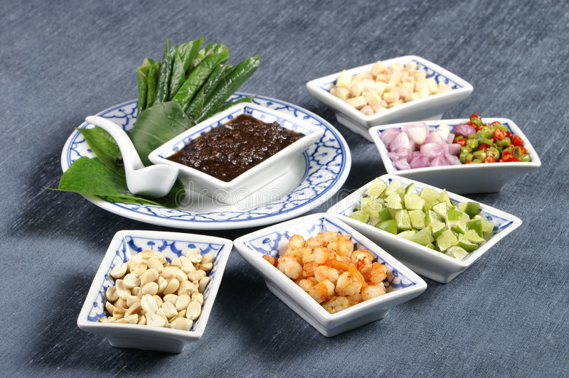 Download Chopped Thai Food Ingredients Stock Photo - Image of chopped, diced: 3769366