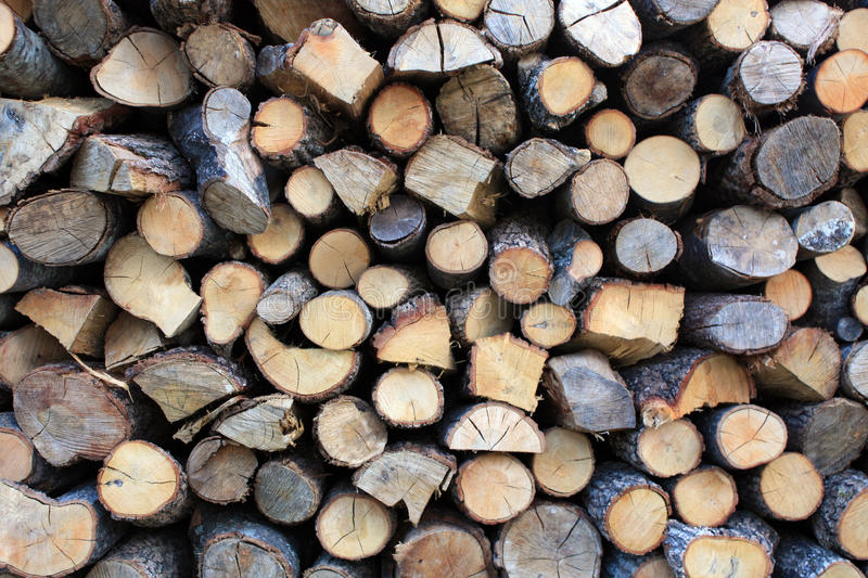 Chopped wood 2 royalty free stock images