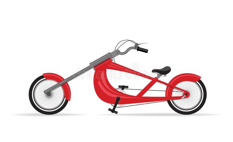 Chopper Bicycle illustrazione vettoriale