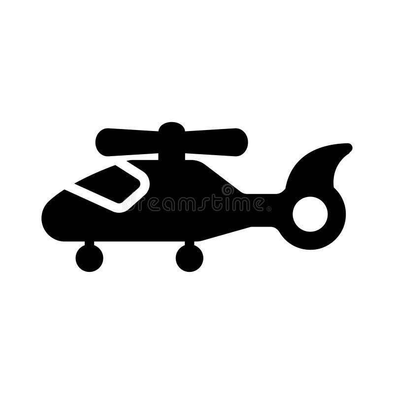 Chopper glyph flat vector icon royalty free illustration