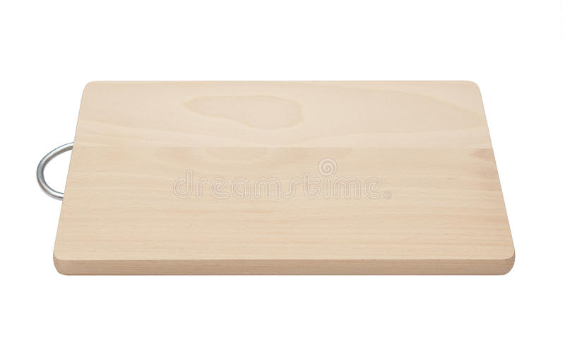 Chopping Board Isolated Royalty Free Stock Photos
