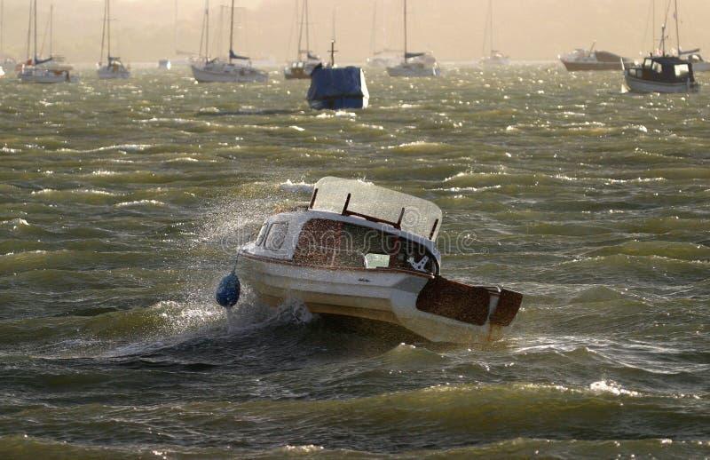 Choppy Seas royalty free stock photos