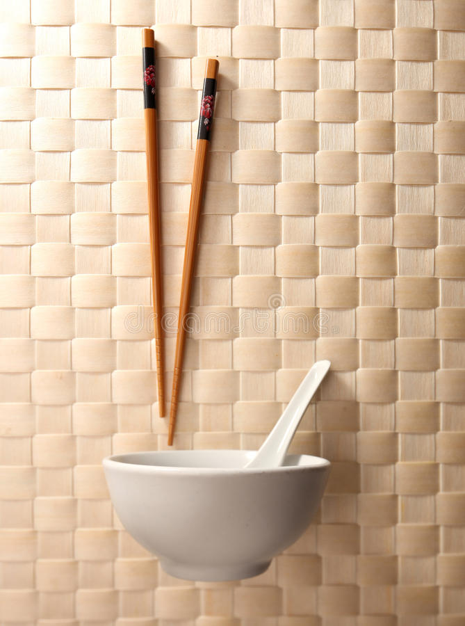 Download Chopstick and bowl stock photo. Image of asia, white - 11648984