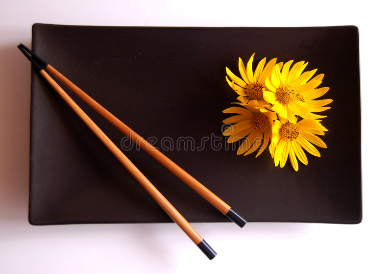 Chopstick Still Life stock photo