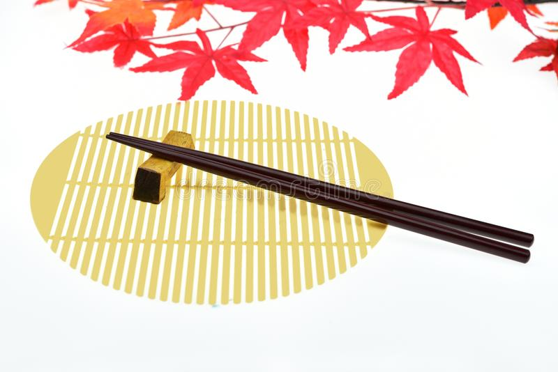 chopsticks ανασκόπησης λευκό στοκ φωτογραφίες με δικαίωμα ελεύθερης χρήσης