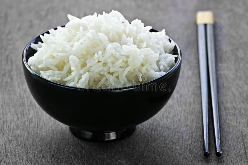 chopsticks κύπελλων ρύζι στοκ εικόνα