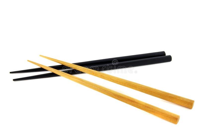 Download Chopsticks foto de stock. Imagem de isolado, sushi, formulário - 10058950