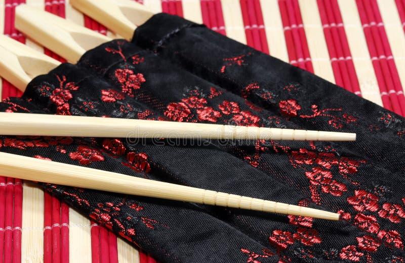 chopsticks στοκ φωτογραφία