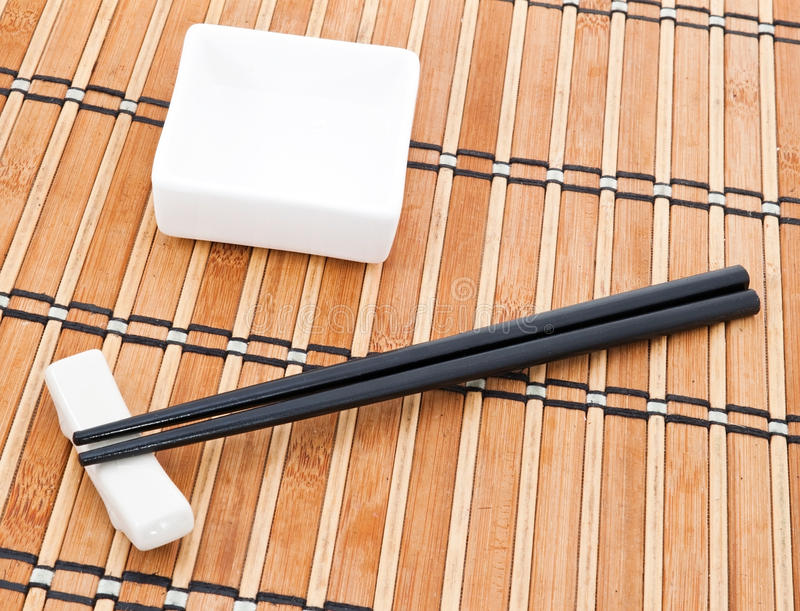 Download Chopsticks and bowl stock photo. Image of isolated, culture - 18053042