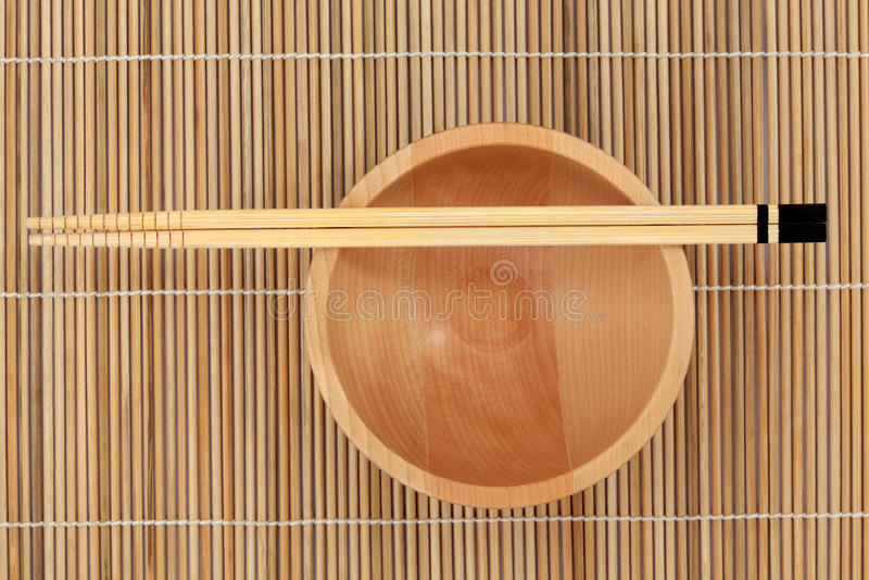 Download Chopsticks and Bowl stock image. Image of asian, chop - 25294581