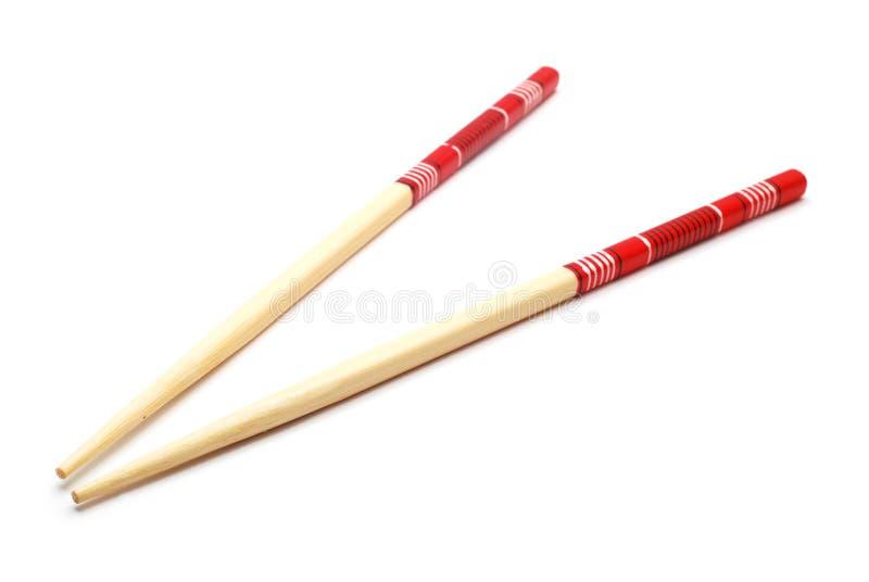 Chopsticks. Isolated on white background stock image