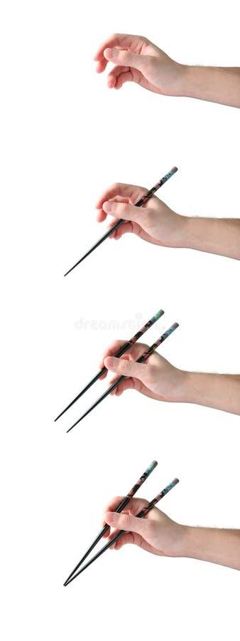 chopsticks obchodzą się dlaczego zdjęcie royalty free