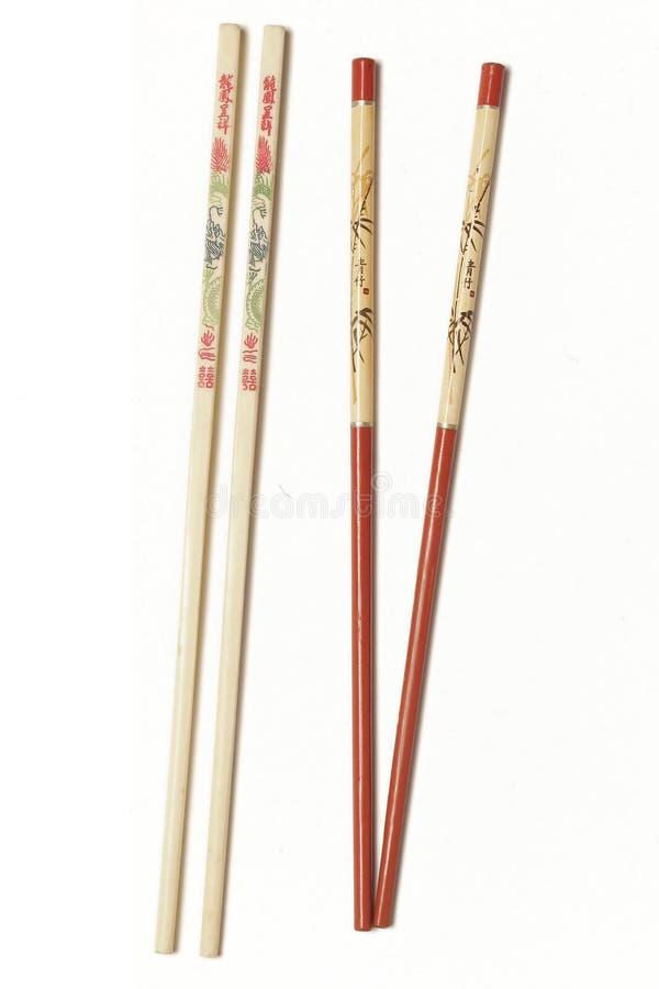 Chopsticks with Plain Background royalty free stock photo