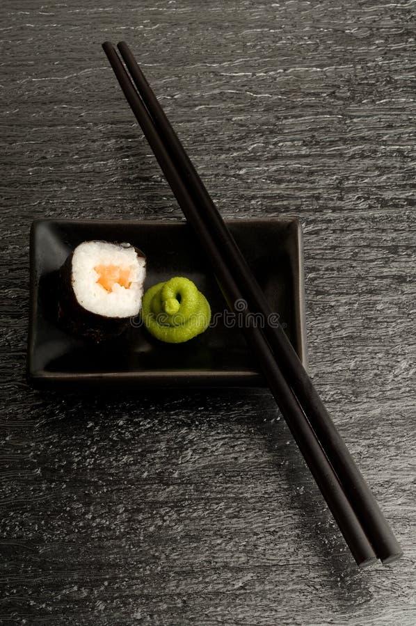 Download Chopsticks suszi obraz stock. Obraz złożonej z dinner - 13335695