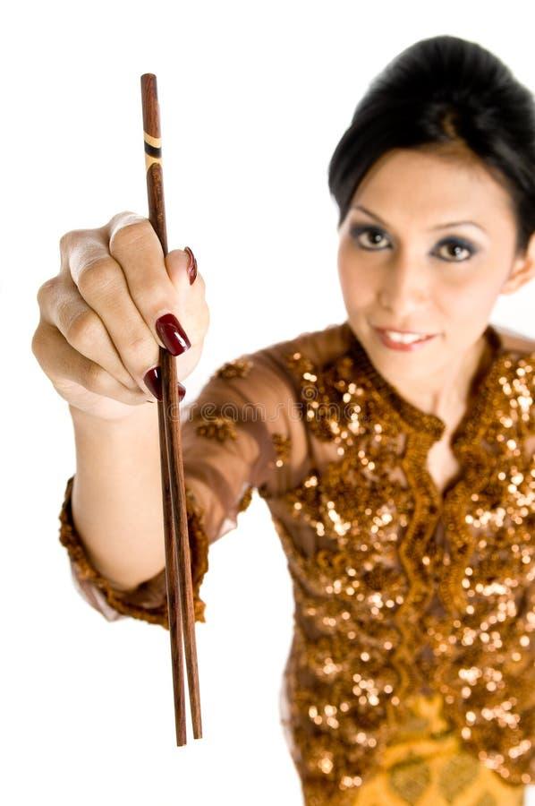 Chopsticks tradicionais fotos de stock royalty free