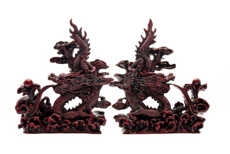 Choque de los dragones fotografía de archivo