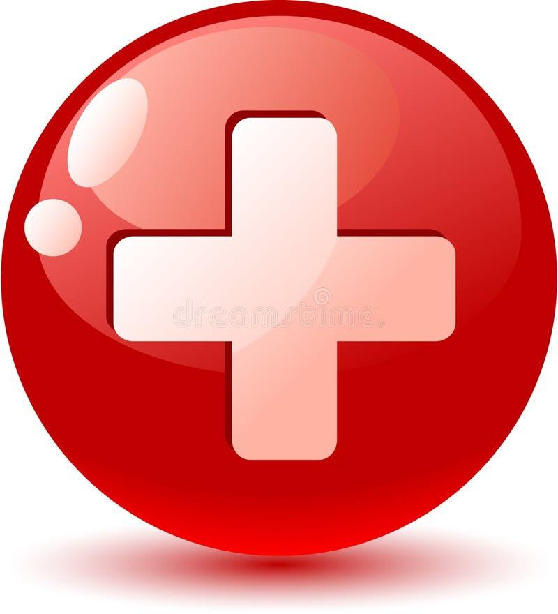 chorągwiana ikona Switzerland ilustracja wektor