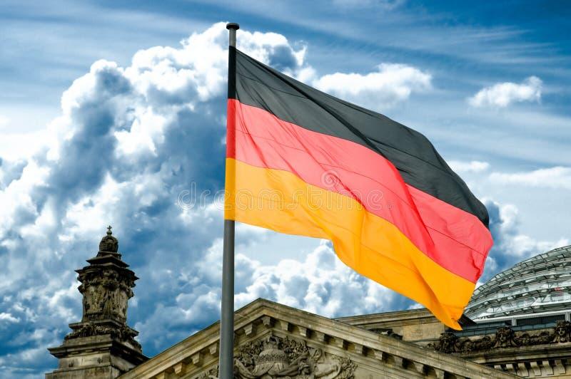 chorągwiana niemiec obrazy royalty free