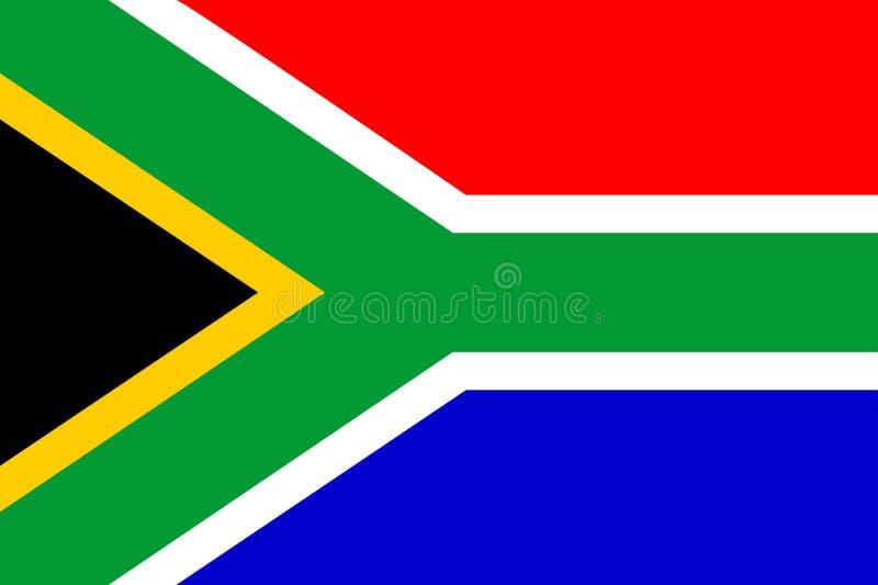 chorągwiani Africa południe ilustracja wektor