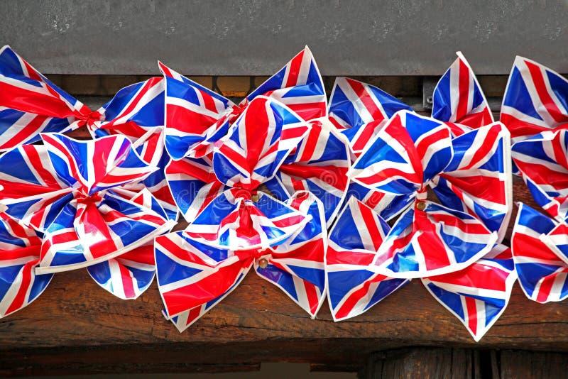 Chorągwiani Brytyjski łęki Fotografia Stock
