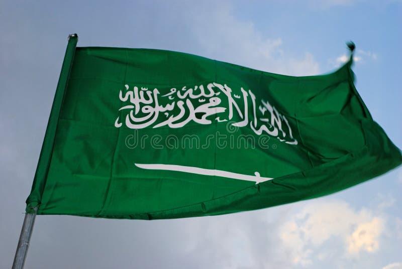 chorągwiany arabian saudyjczyk obrazy royalty free