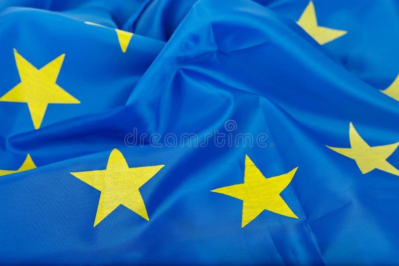 chorągwiany Europejczyka zjednoczenie zdjęcie stock