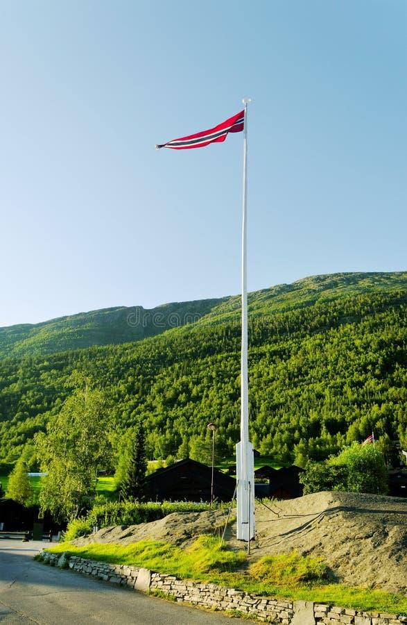 chorągwiany flagpole fotografia stock