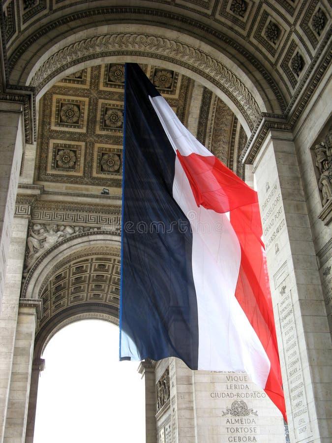 chorągwiany francuz fotografia royalty free