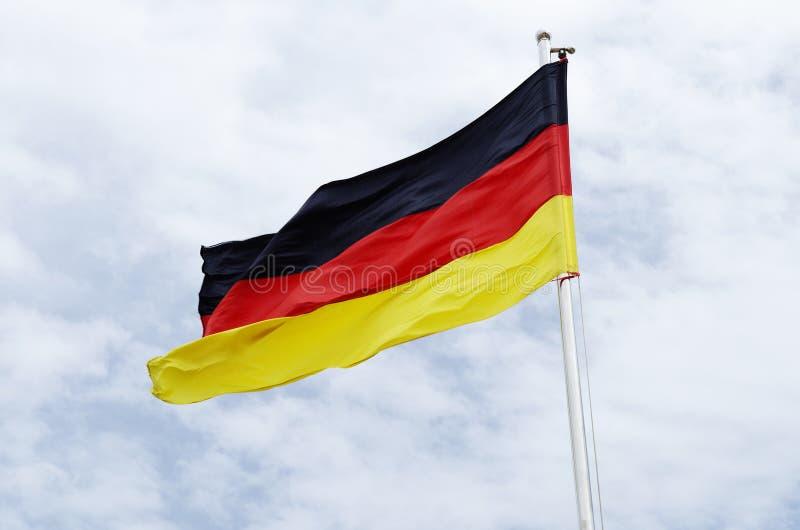 chorągwiany Germany zdjęcia stock