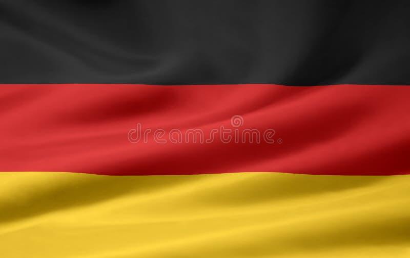 chorągwiany Germany ilustracja wektor