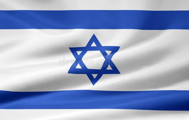 chorągwiany Israel ilustracji