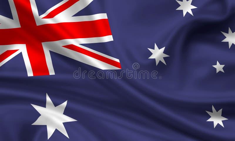 chorągwiany nowy Zealand ilustracji
