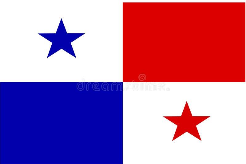 chorągwiany Panama ilustracji