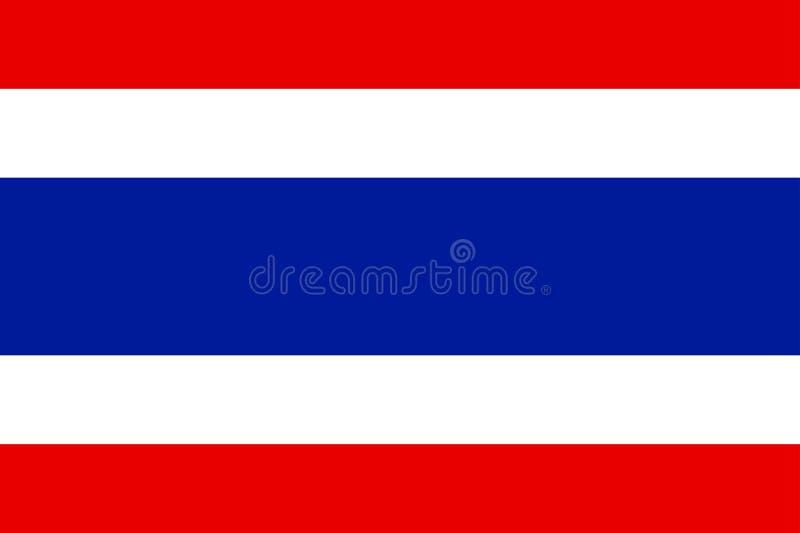 chorągwiany Thailand ilustracji