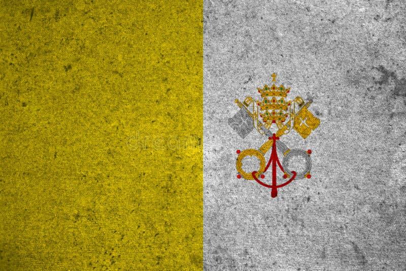 Chorągwiany Watykan ilustracji
