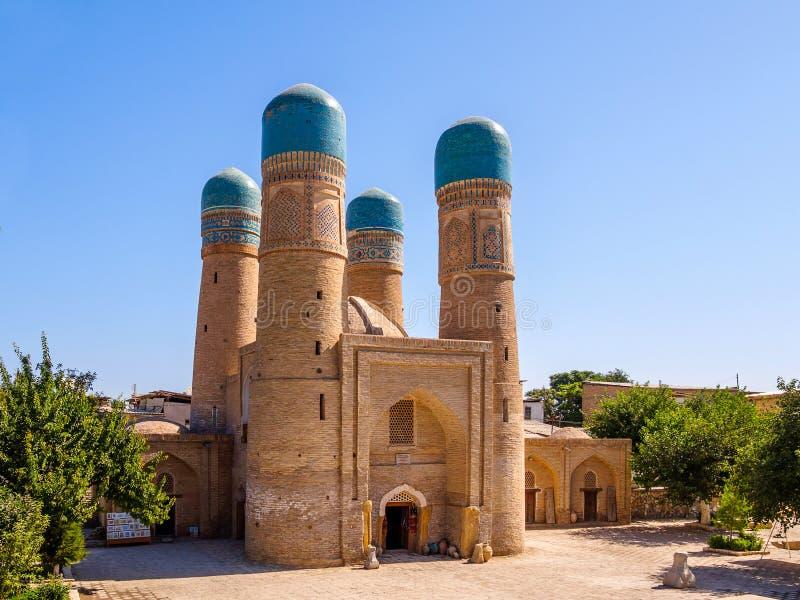 Chor-небольшое Madrassah, Бухара, Узбекистан Всемирное наследие ЮНЕСКО стоковое фото rf