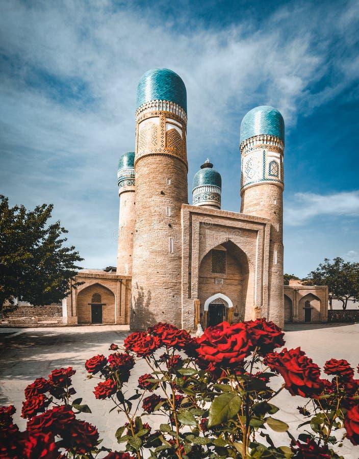 Chor nieletni lub Madrasah Khalif Niyaz-kul Bukhara, Uzbekistan zdjęcia stock