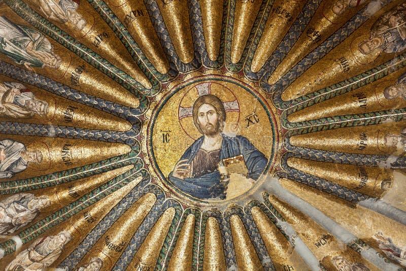 CHORA, церковь Kariye или музей СТАМБУЛ, ТУРЦИЯ стоковые фотографии rf