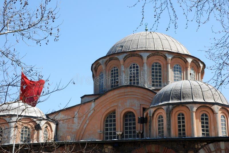 Chora church. Or Kariye Camii , museum in in Istanbul, Turkey stock photo