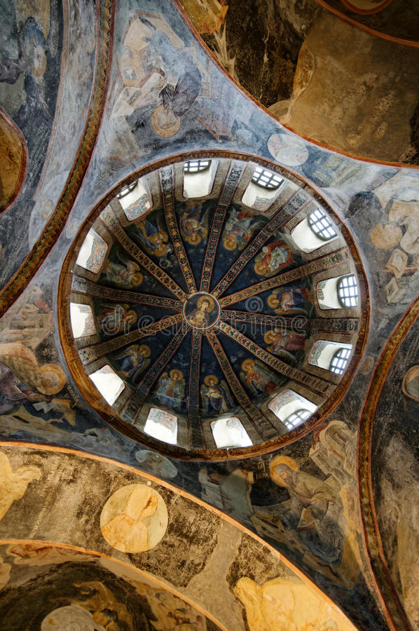 Chora Church Roof Royalty Free Stock Image
