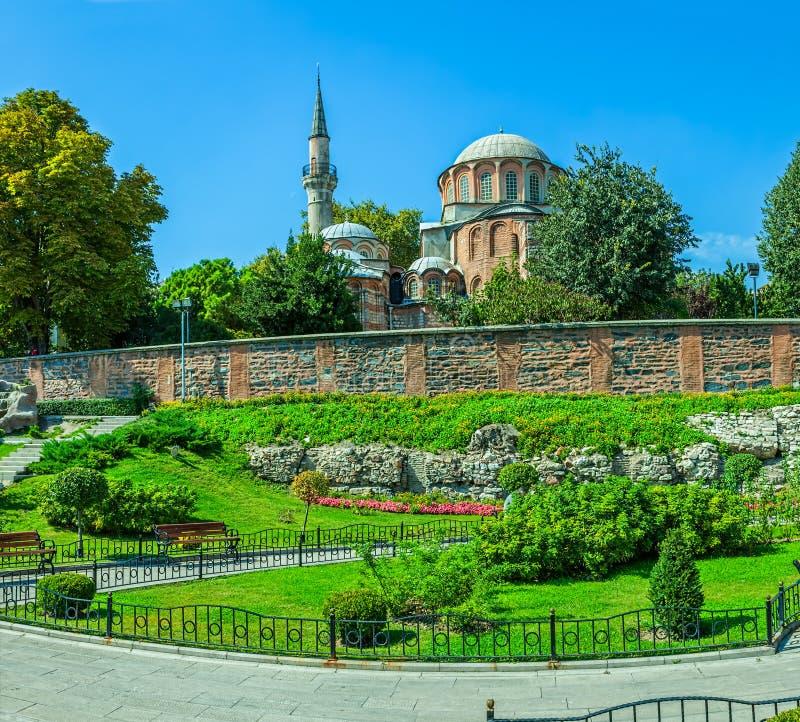 Chora Church, Istanbul stock photos