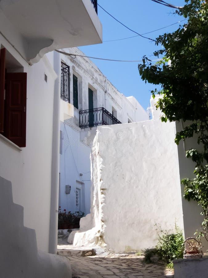 Chora kapita? Skyros wyspa, p??nocny Egejski, Grecja zdjęcie royalty free